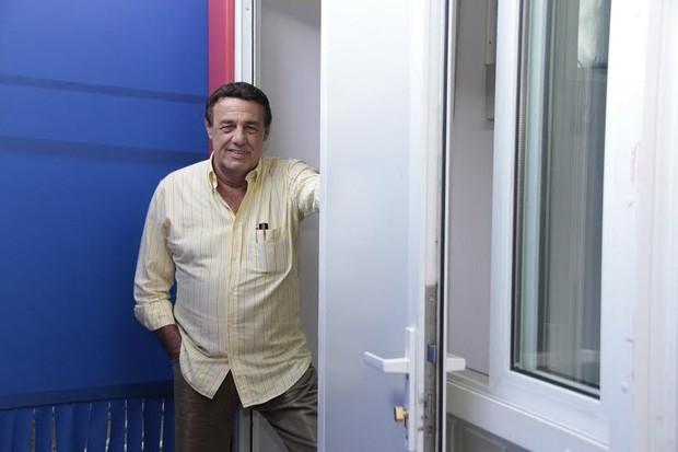 Jorge Pelingeiro posa para o EGO (Foto: Isac Luz/EGO )