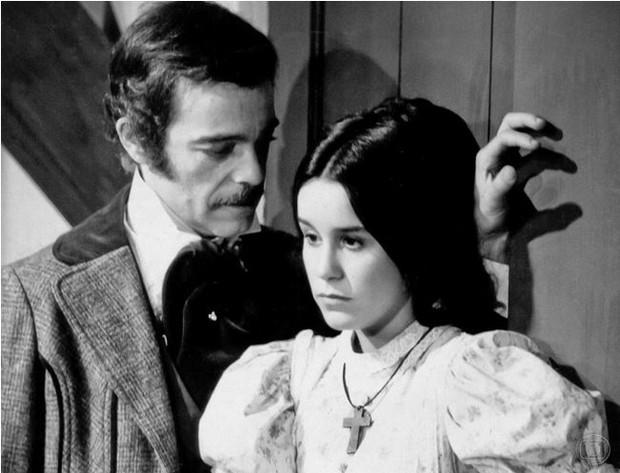Rubens de Falco e Lucélia Santos: Leôncio e Isaura (Foto: CEDOC/Globo)