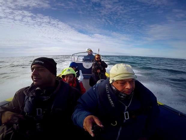 Mar de Iroise, na Bretanha (Grep) (Foto: Globo Repórter)