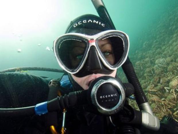 Sheree Marris quer conscientizar sobre a variedade de vida marinha na costa sul da Austrália  (Foto: Sheree Marris)