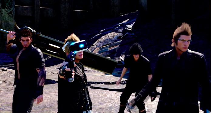 Final Fantasy XV Vr Experience (Foto: Divulgação/Sony)