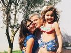 Giulia Costa homenageia Otaviano Costa no Dia dos Pais