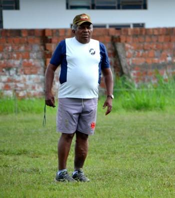 Jangito, técnico do Vasco-AC (Foto: Nathacha Albuquerque)