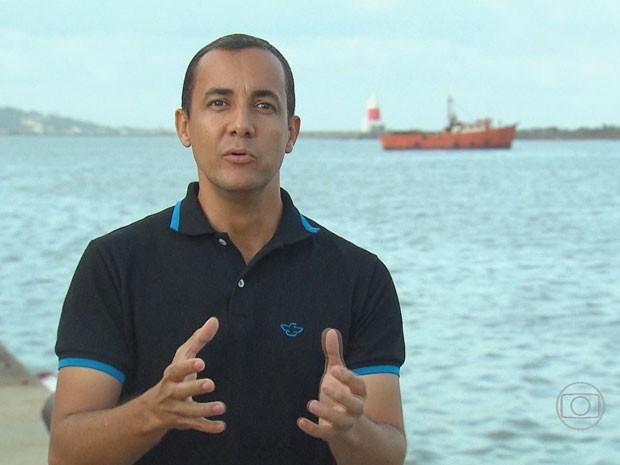 Professor Ricardo Gomes (Foto: Reprodução/TV Globo)