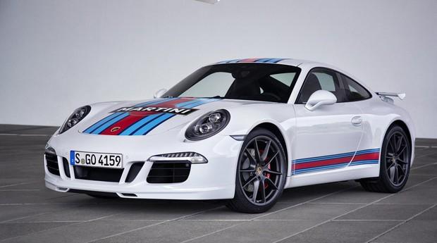 Porsche 911 S Martini Racing Edition (Foto: Divulgação)