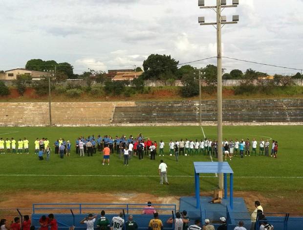 Jogo master Uberlândia e Palmeiras (Foto: Arcênio Corrêa/Tv Integração)