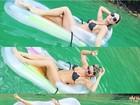 Laura Keller cai de poltrona inflável: 'Melhores momentos'