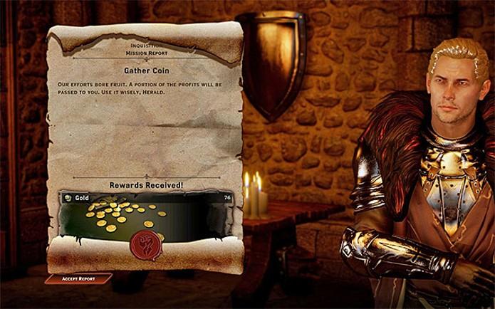 Consiga ouro com as recompensas das missões (Foto: Reprodução)