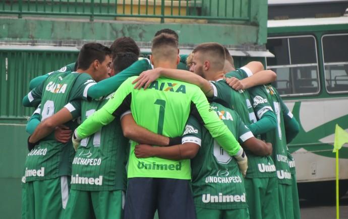 Chapecoense sub-20 (Foto: Giba Pace Thomaz/Chapecoense)