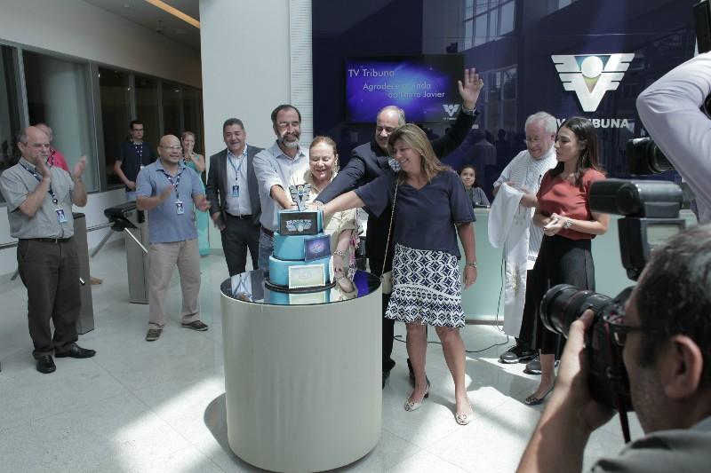 Inauguração oficial da nova sede da TV Tribuna em Santos (Foto: Tiago Sierra)