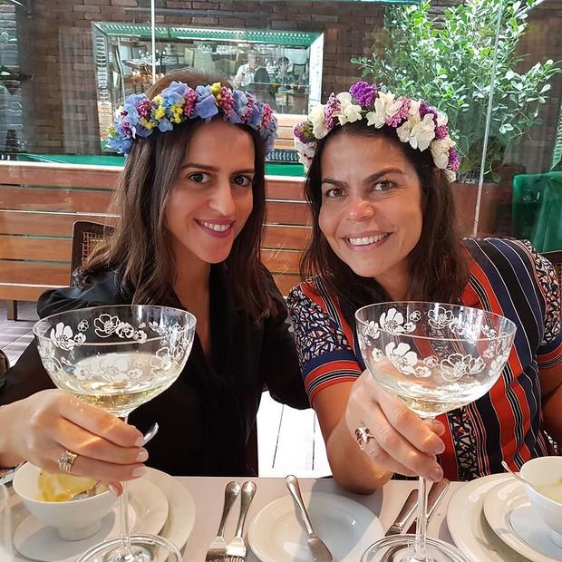 Paula Bezerra de Mello e Daniela Falcão (Foto: reprodução/Instagram)