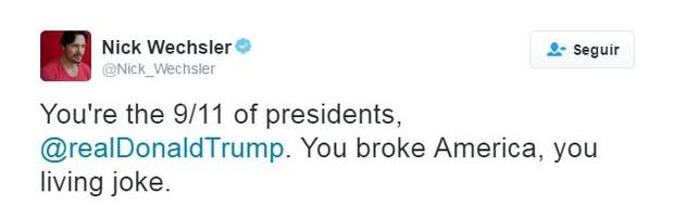 Famosos comentam vitória de Trump (Foto: Twitter / Reprodução)