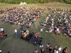Foo Fighters elogiam vídeo de mil fãs que pediam show: 'Nos vemos logo'