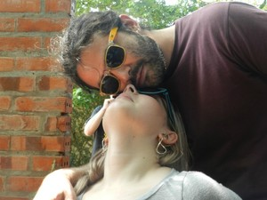 casal distancia  (Foto: Arquivo pessoal)