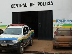 Central de Flagrantes de Porto Velho (Foto: Angelina Ayres/G1)
