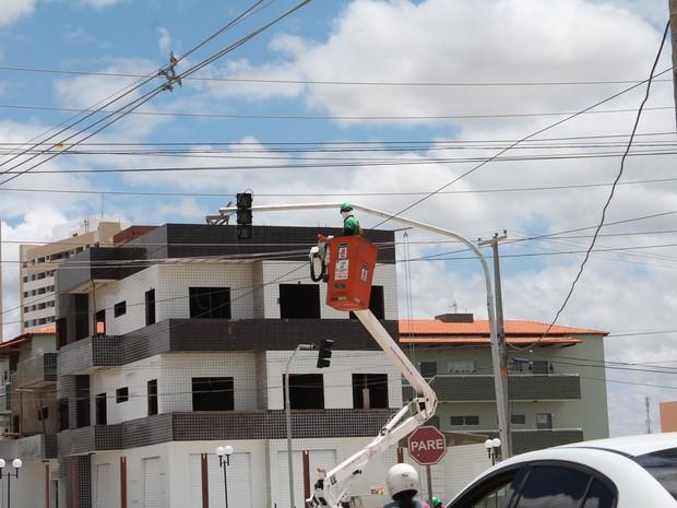 Instalação de semiárido em Petrolina, PE (Foto: Juliane Peixinho / G1)