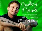 Netinho ganha homenagem no dia de seu aniversário: 'Nada como viver'