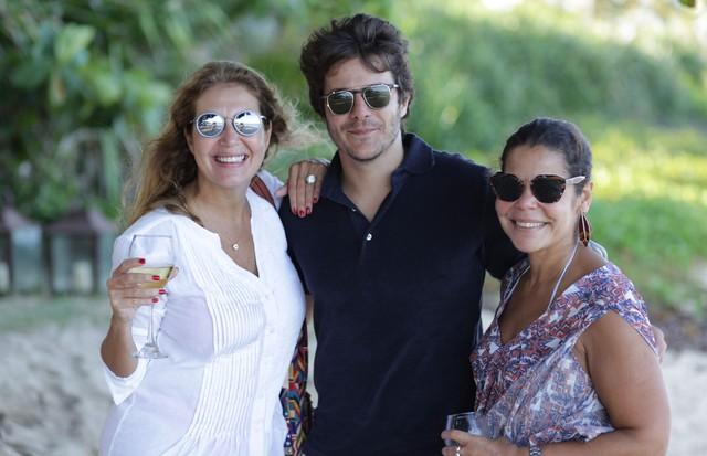 Donatta Meirelles, André Bontempo e Daniela Falcão (Foto: Ellem Cardoso)