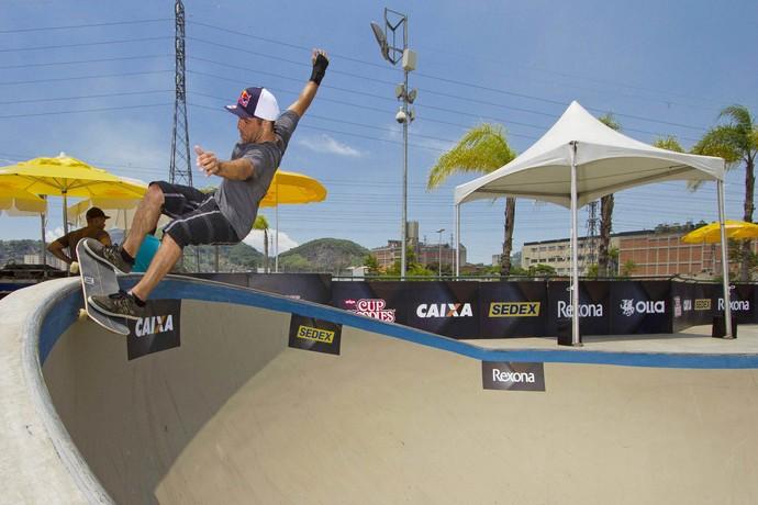 Mundial de Skate Bowl reúne feras do esporte no Parque de Madureira, no Rio de Janeiro  (Foto: Divulgação)