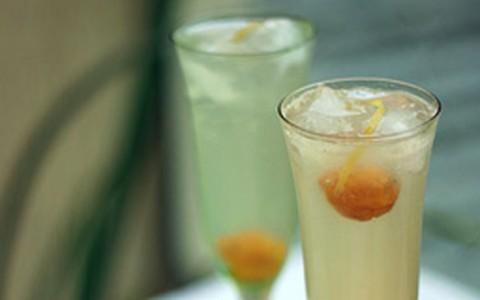 Drinque: spritzer de cítricos