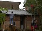 Granizo danifica mais de 2,5 mil residências em 12 cidades do RS