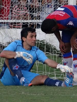 Ricardo Berna, goleiro do Fortaleza (Foto: Leonardo Freire/GloboEsporte.com)