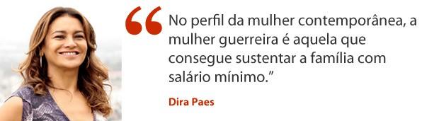 Dira Paes_aspa (Foto: Salve Jorge/TV Globo)