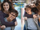 #DiaDosNamoradosJoanca: Bruna e Gui respondem aos fãs no #PapoReto