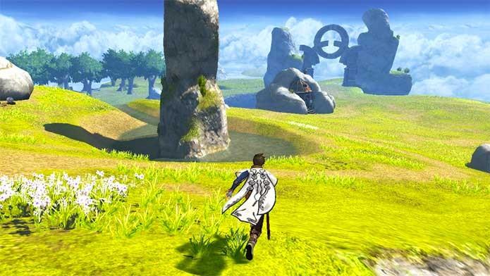 Tales of Zestiria e sua exploração de mapa (Foto: Divulgação/Bandai Namco)