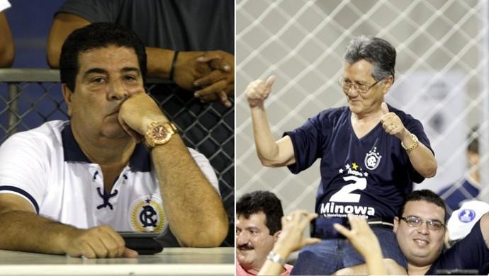 Zeca Pirão e Pedro Minowa (Foto: Akira Onuma | Montagem: Pedro Cruz)