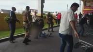 Uma pessoa morre em tentativa de assalto a carro-forte em supermercado
