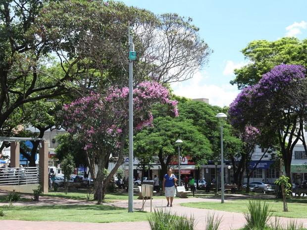 praça Itaúna (Foto: Prefeitura de Itaúna/Divulgação)