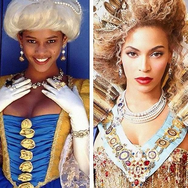 Taís Araújo e Beyoncé (Foto: Reprodução/Instagram)