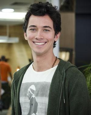 Gabriel Falcão é o protagonista da nova temporada de Malhação (Foto: Raphael Dias / TV Globo)