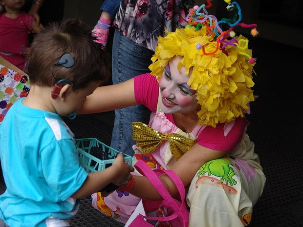 Sheila do Nascimento Garcia trabalha no Centrinho há 7 anos (Foto: Sheila Garcia/Arquivo pessoal)