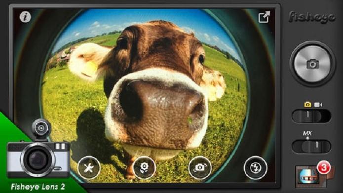 Aplicativo FishEye dá o efeito olho de peixe às suas fotos (Foto: Divulgação/App Store)