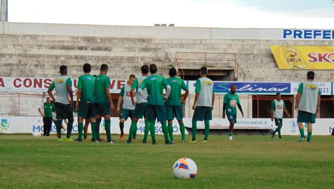 RN - Baraúnas treino (Foto: Yhan Victor/Divulgação)