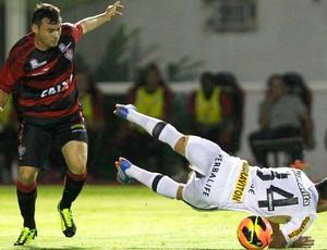 Vitória e Botafogo (Foto: Felipe Oliveira / Agência estado)