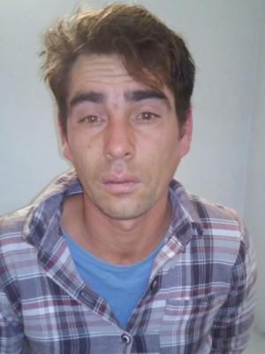 Suspeito foi preso um dia após estupro (Foto: Brigada Militar/Divulgação)