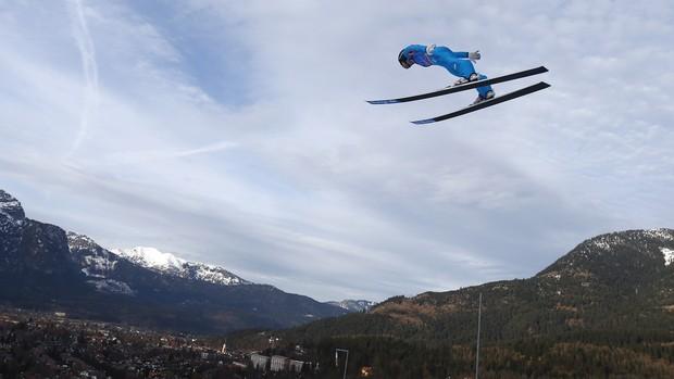 Anders Jacobsen esqui saltos Garmisch-Partenkirchen (Foto: Reuters)