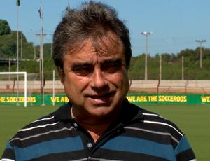 Pedro Soares, assessor técnico da Desportiva Ferroviária (Foto: Reprodução/TV Gazeta)