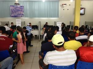 Oportunidades de emprego reduzem em primeiro mês do ano, diz Sine Estadual (Foto: Gaia Quiquiô/G1)