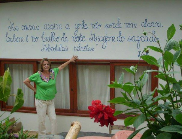 Professora lecionava em Carangola, Leste de Minas. (Foto: Arquivo Pessoal/ Ana Carolina Ferreira)