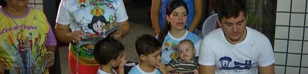 Fiéis contam histórias de devoção por Nossa Senhora de Nazaré (Reprodução/TV Liberal)