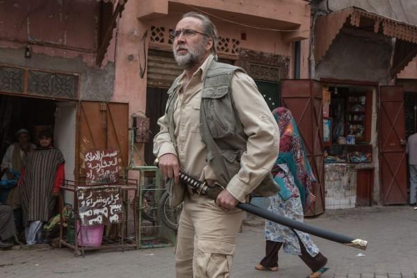 O ator Nicolas Cage em cena de Army of One (Foto: Reprodução)