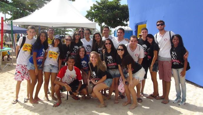 Volei de Praia AL (Foto: Viviane Leão/GloboEsporte.com)