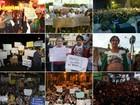 Região leva mais de 30 mil pessoas às ruas durante manifestações em 2013