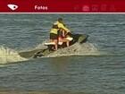 Salva-vidas é visto deixando jovem pilotar moto aquática, no ES