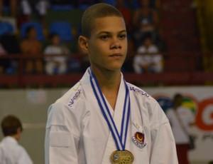 Thiago Loeser foi medalha de bronze nos JETVSE (Foto: Felipe Martins/GLOBOESPORTE.COM)