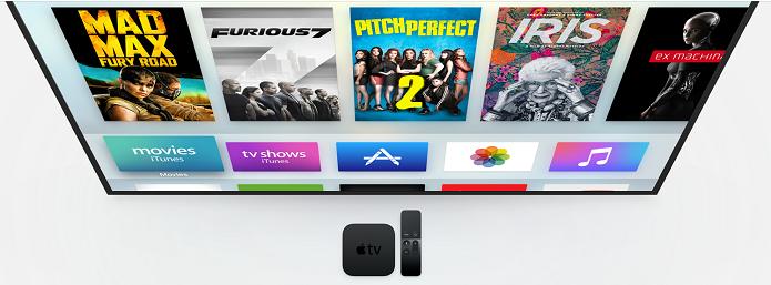 Nova geração da Apple TV conta com sistema remodelado (Foto: Divulgação/Apple)